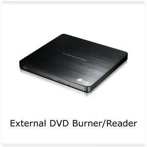 Add External DVD Burner / Reader