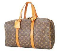 Authentic LOUIS VUITTON Sac Souple 45 Monogram Tote Duffle Bag #34339