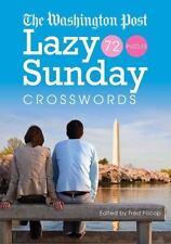 The Washington Post Lazy Sunday Crosswords by Washington Post Staff (2009,...