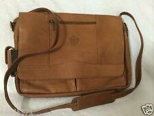New listing Pangea Tan Leather Laptop Messenger Bag - Utah Jazz