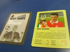 Roy keane Meaty ( top ) Trump Card Nottingham forest Manchester United
