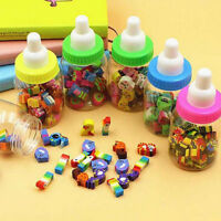 50 x Cute Mini Cartoon Number Rubber Pencil Eraser Children Stationery Gifts Hot