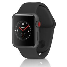 Apple Watch Series 3 38MM Space Gray Aluminum Case & Black Band (GPS + Cellular)