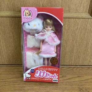 Licca-chan x Hello Kitty Collaboration Limited Doll Special Version Takara Japan