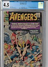 Avengers #12 CGC 4.5 RARE !!