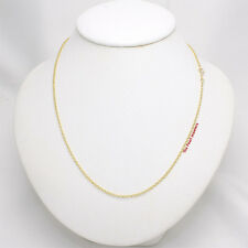 """16"""" or 18"""" 14k Solid Yellow Gold Chain Micro Rolo Style 1.9mm Necklace TPJ"""