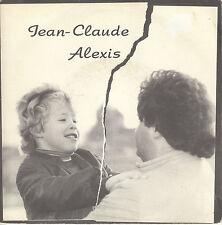 45TRS VINYL 7''/ SWISS SP JEAN-CLAUDE ALEXIS / MON COEUR BAT EN GUERRE