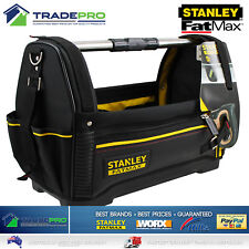 "Stanley Fatmax® PRO Tool Bag Tote 18"" 460mm H/Duty Hard Base Organiser XL"