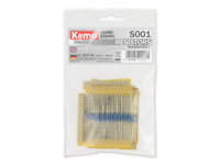 Resistors Selection Kemo S001 Assorted Mixed Values 200pc + Colour band chart