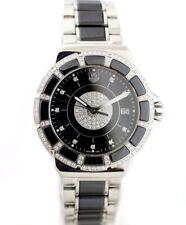 Tag Heuer Formula 1 WAH1219 Ceramic Steel Black Diamond Dial/Bezel Ladies Watch