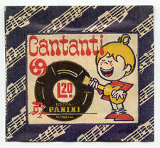 Rara BUSTINA Figurine ALBUM Panini CANTANTI 69 Piena e Perfetta 1969