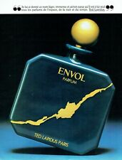 Publicité Advertising 049  1981  le parfum Envol par Ted Lapidus