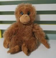 ORANGUTAN PLUSH TOY TIM THE TOYMAN STUFFED ANIMAL 30CM