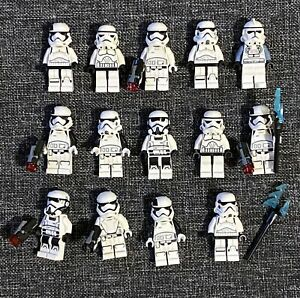 LEGO STAR WARS Stormtrooper lot of 14x Authentic New