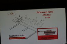 HP Models 1:700 Fahrzeug-Serie --Bausatz mit 12 Jagdpanther