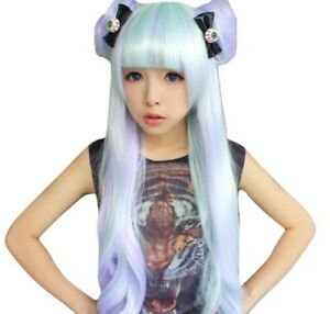 Kawaii Clothing Ropa 1PC Bow Eye Hair Clip Punk Harajuku Halloween Pastel Gothic