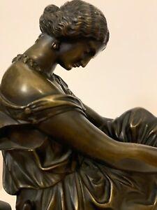 Bronze Sapho de James Pradier, fondeur Susse Frères