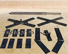 Saint Andrew's Cross Hardware Kit, You supply the wood and build it yourself.