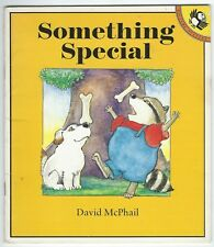 Something Special David McPhail Picture Puffins 1990 Paperback Good Condition