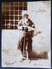 1890 MENDIANT original photo dilencilik Tasavvuf Türkiye Turkey mendicant sufism