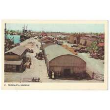 More details for cyprus famagusta harbour, old postcard by poulias & koniaris, unposted