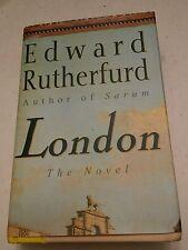 020 London Edward Rutherfurd Hard Back Novel Book
