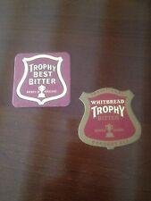 TROPHY BITTER BEER MAT - DRIP MAT X 2