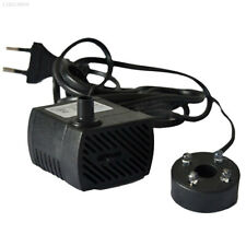 Electric Submersible Water Fountain Pump With LED Light Pond Garden Pool AU