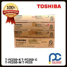Original Toshiba T-FC25D Toner Set - 4 colours - CMYK 2040c 2540c 3540c 4540c