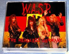 W.A.S.P. WASP-The Headless Germany Live 3 CD 1989 Kiss Doro Saxon Ratt Skid Row