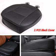 Car Front Seat Cushion Edge Wrapping Cover Pad Breathable Single PU Leather Mat
