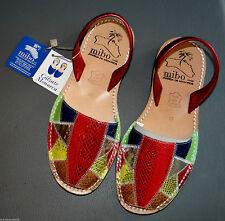 Damen-Sandalen für den Strand-Echtleder normale Weite (E)
