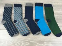SOVIET Diamond Mens Socks Quality 5 Pack UK 6-11 EU 39-45 Made in Turkey A362-31