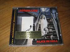 Annihilator – Alice In Hell CD ALBUM Netherlands 1988 (RR 8723-2)