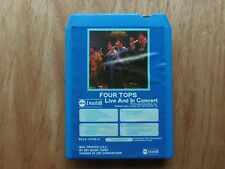 Four Tops Live And In Concert 8 Track Tape 1974 ABC / Dunhill # 802350188H