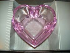 Purina FANCY FEAST Cat Bowl Pink Heart Small Food Dish ~ LIMITED EDITION