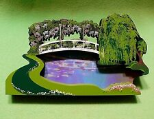 Shelia's Wood display ' My Favorite Places Reflecting Pond ' shelf sitter. Ltd E