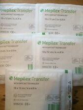"""Mepilex Transfer 4""""x4.8"""""""" x5 Wound Dressing home care Ref 294700 Dressing care"""