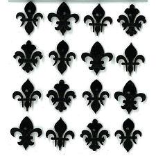 JOLEES BOUTIQUE - BLACK FLEUR DI LIS REPEATS 50-20926