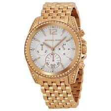 Michael Kors Watch Women's Chronograph Pressley Rose Gold-Tone MK5836