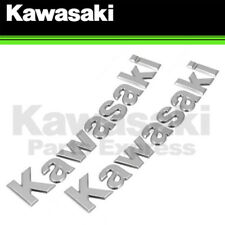 NEW 2012 - 2018 GENUINE KAWASAKI NINJA ZX-14R FUEL TANK BADGE EMBLEMS - 2 PACK!