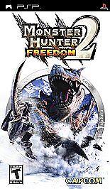 Monster Hunter Freedom 2 (Sony PSP) BRAND NEW & FACTORY SEALED