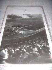 CALCIO NAPOLI - SAMPIERDARENESE 1936 FOTO CARTOLINA ENTRATA CAMPO SQUADRA LIGURE