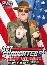 Sgt Slaughter Shoot Interview DVD-R, WWF Wrestling NWA Mid Atlantic WWE Sergeant