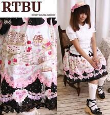 Sweet Lolita Doll House Desert Pastry Bakery Chef Skirt
