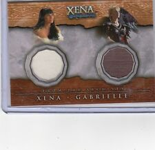 Xena  DC4 Xena & Gabrielle double costume  card