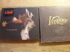 Pearl Jam [2 CD Alben] LIVE - on Two Legs + Vitalogy