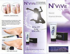 N'VIVE CREAM FOR HANDS AND FEET - Heals Cracked Skin - Calms Itching Redness 6oz