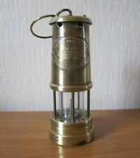 ANCIENNE LAMPE DE MINEUR - BRITISH COAL MINING COMPANY WALES U.K.