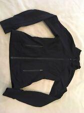Ivivva Jacket 10 Girls Black Solid Dance Gymnastics By Lululemon